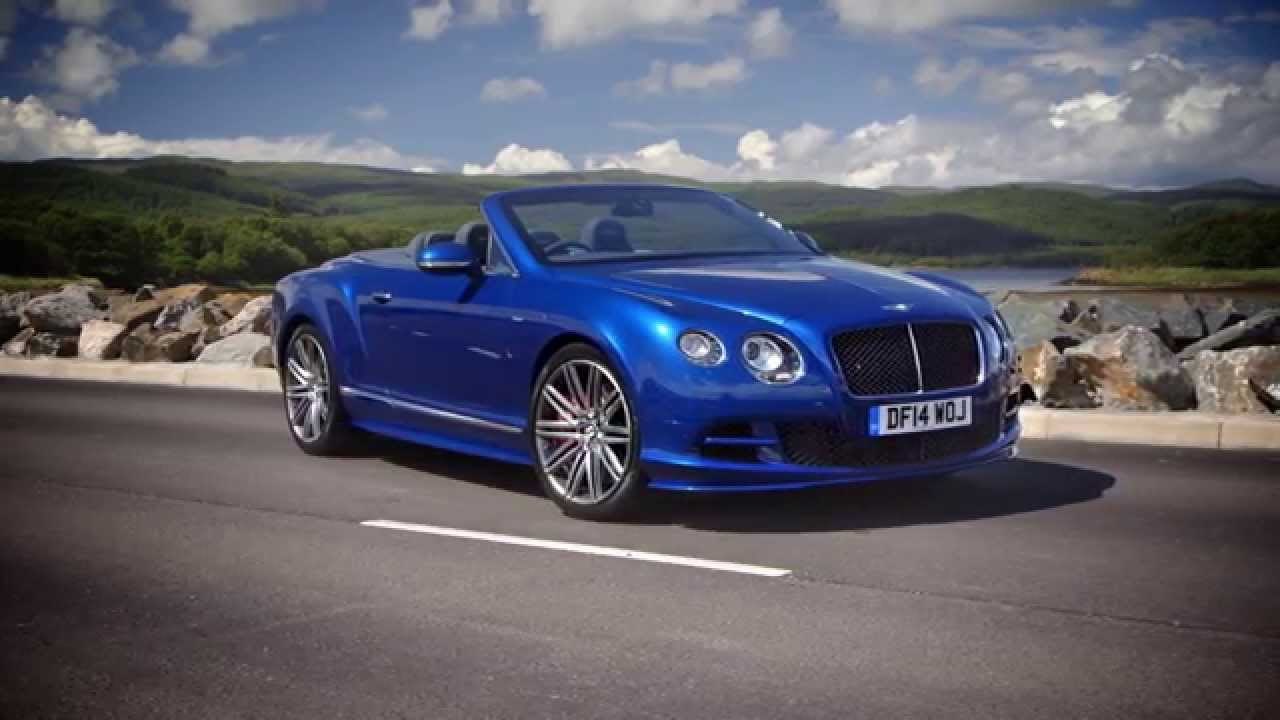 2015 Bentley Continental Gt Speed Convertible Sequin Blue