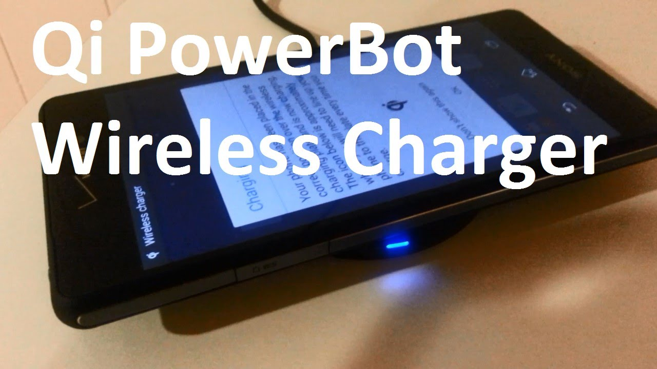 timeless design 15f7b 9fb0e Qi PowerBot Wireless Charging Test Xperia Z3v