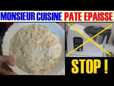 monsieur-cuisine-silvercrest-lidl-pâte-épaisse---lourde-a-eviter-!