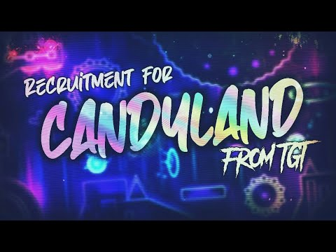 Recruitment for CandyLand from TGTeam | Layout by Fufafac