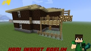 Basit Şirin Ev Yapımı-Hadi Inşaat Edelim! (Minecraft) 4.Bölüm