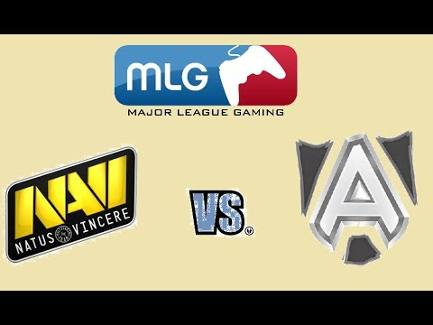 Na`Vi vs Alliance - BO1 [MLG Columus] Major League Gaming Русские Комментарии V1LAT GG by ...