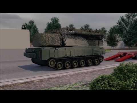 видео: Маршрут «Бука» и место пуска (русская озвучка)