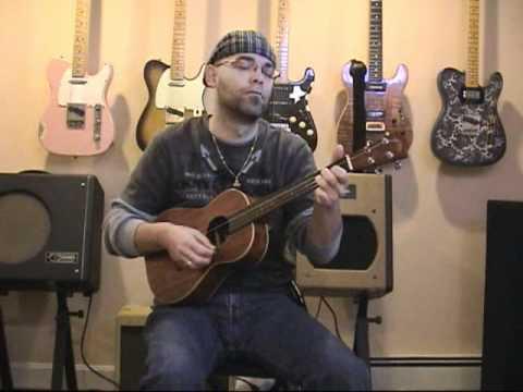 MojoTwanger.com: The Weary Kind (R. Bingham cover, ukulele)