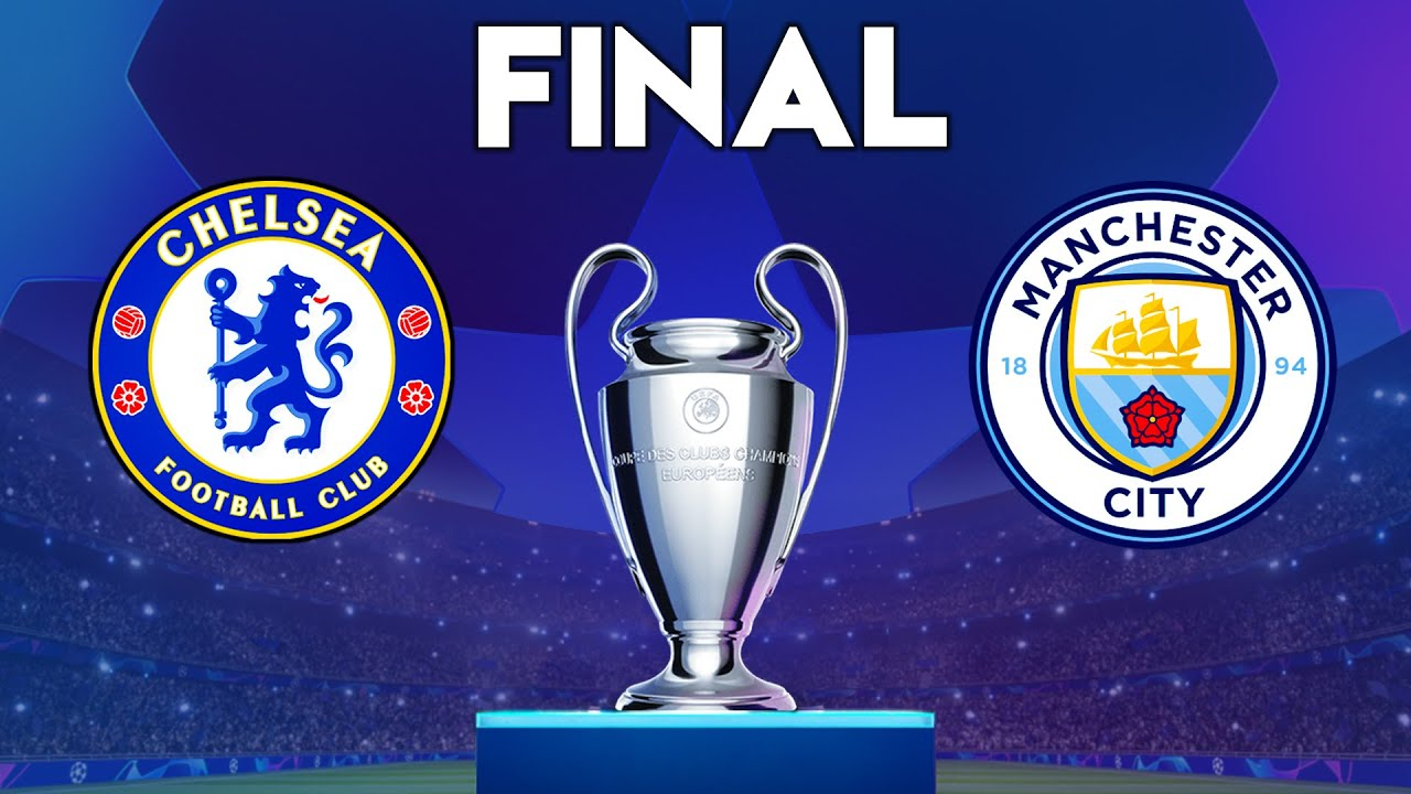 UEFA Champions League Final 2021 - Chelsea vs Manchester City Gameplay -  YouTube