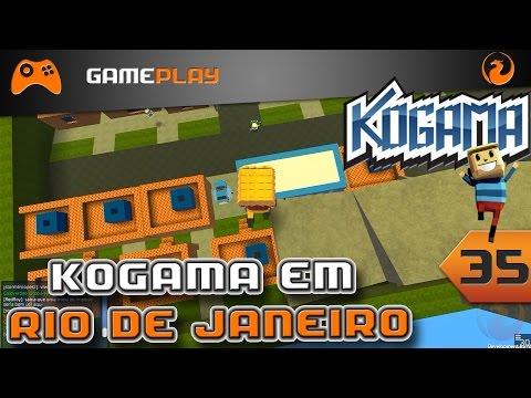 Jogando Kogama No Rio de Janeiro   Mapa Kogama Legal