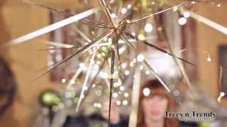 AMAZING Star Burst Christmas Ornaments Thumbnail