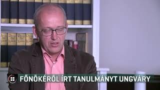 Főnökéről írt tanulmányt Ungváry Krisztián - 19-07-14