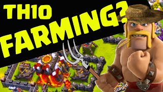 Clash of Clans - Town Hall 10 Farming - Is it POSSIBLE?