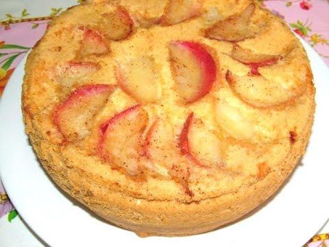 как приготовить шарлотку с яблоками самую простую