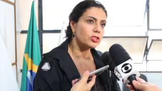 Suspeito de agredir ex-companheira no centro da cidade é apresentado pela polícia