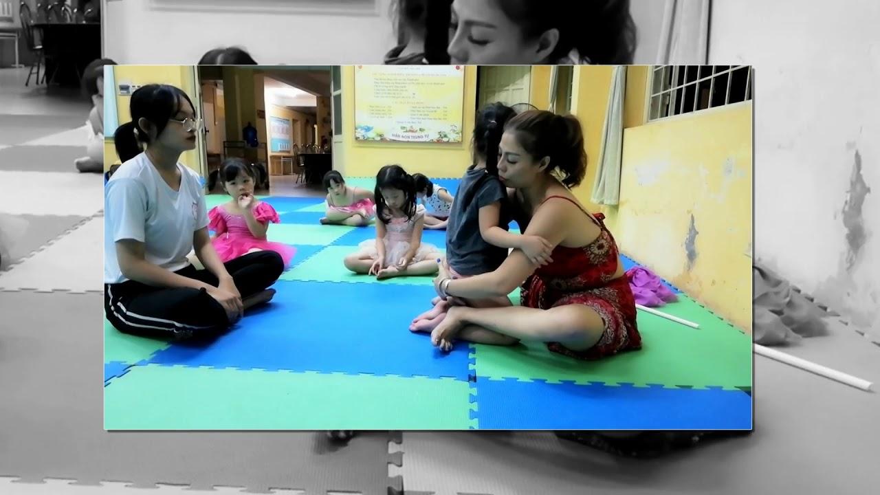 Lớp múa uốn ,ép dẻo cơ bản tại CLB Tuổi Thần Tiên