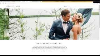 Как создать сайт-портфолио для фотографа, быстро и недорого.