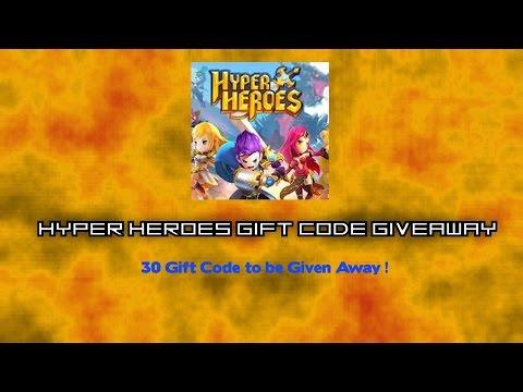 Hyper Heroes Gift Code Giveaway (30 Code)