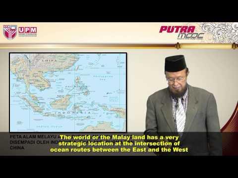 PutraMOOC | BBM3302M Topic 7 Malay Craftsmanship (Tranditional Malay Ship) (Part 1/2)