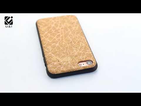 New style wood phone case shinning design DIY