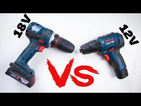 Qué Taladro Debo Comprar!? - 18V vs 12V