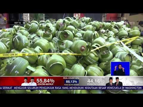 Polisi Sita 3.547 Tabung Gas Melon Palsu NET12