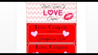 For coupons Printable template love him