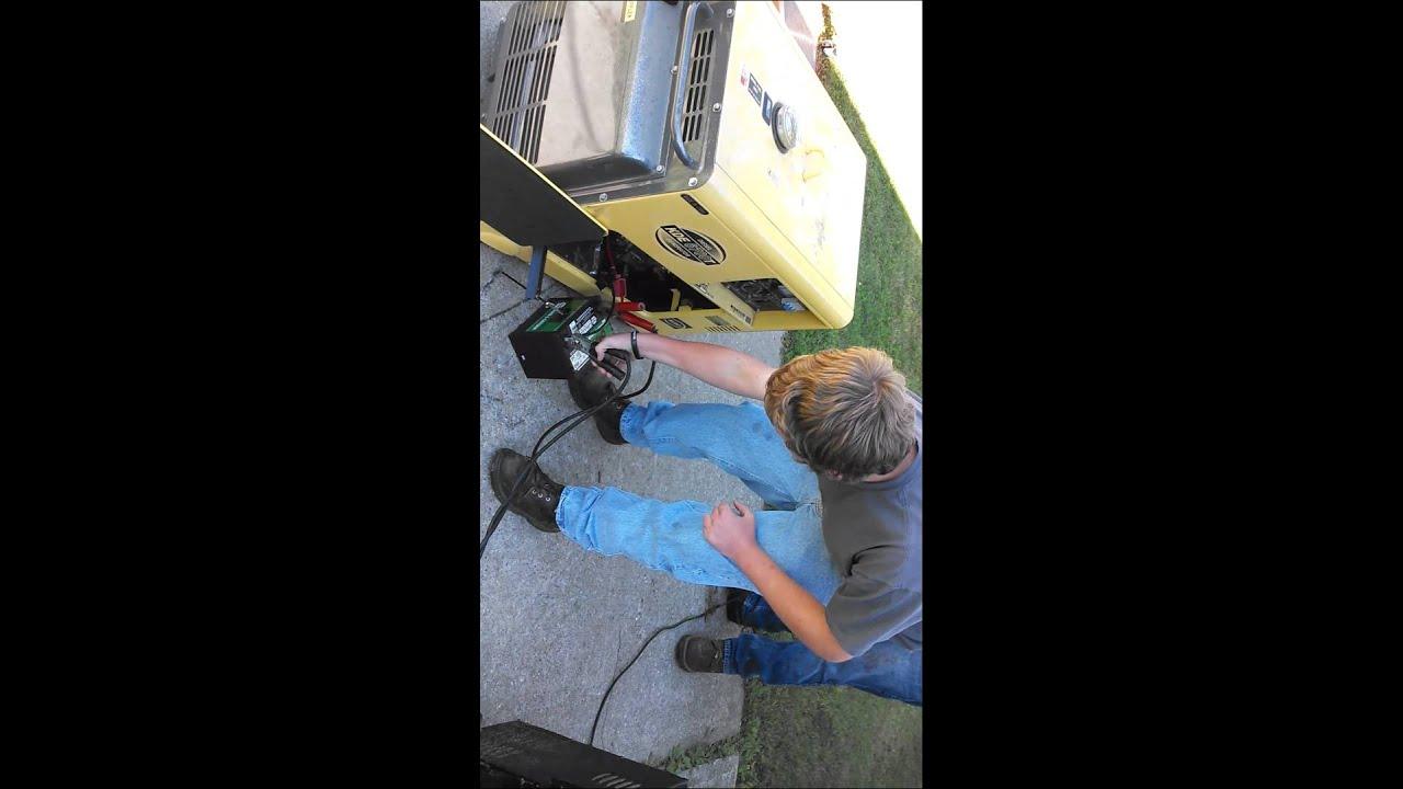 Kipor diesel generator cold start