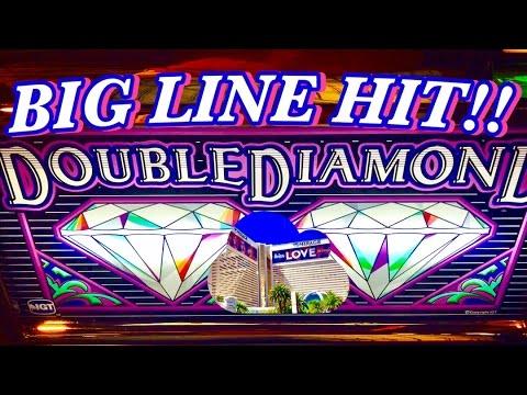 ★BIG WIN★ DOUBLE DIAMOND SLOT MACHINE $4.50 BET✦LIVE PLAY✦LAS VEGAS SLOTS!