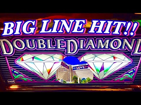 ★BIG WIN★ DOUBLE DIAMOND SLOT MACHINE $4.50 BET✦LIVE PLAY✦LAS VEGAS SLOTS!