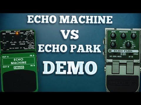 Behringer EM600 Echo Machine VS Line 6 Echo Park (Comparison)