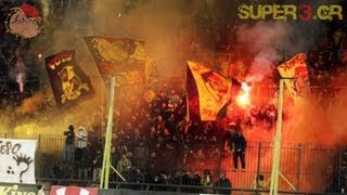 ARIS vs panathinaikos 1-0 ... Sound Terrorism in Kleanthis Vikelidis | SUPER3 Official