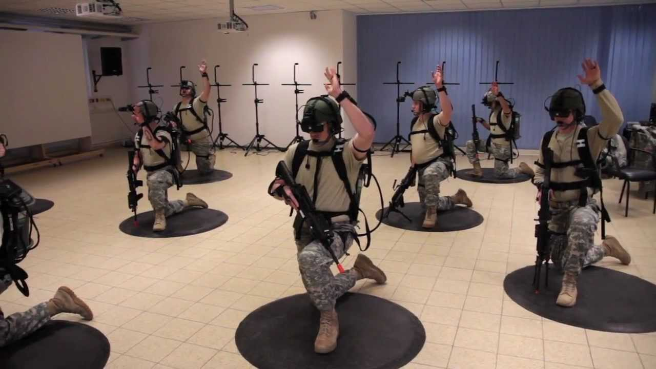 Virtual Dismounted Training System Arrives In Europe Youtube