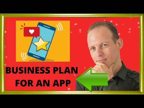 Business Plan For Startup Or Mobile App - YouTube