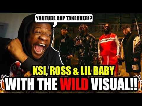 KSI – Down Like That feat. Rick Ross, Lil Baby & S-X (Official Video) REACTION