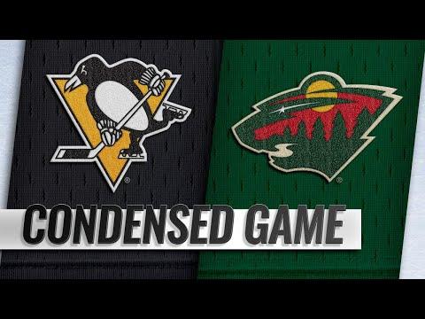 12/31/18 Condensed Game: Penguins @ Wild