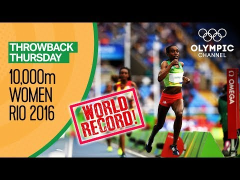 Women's 10,000m Final - RECAP - Rio Replays   Throwback Thursday