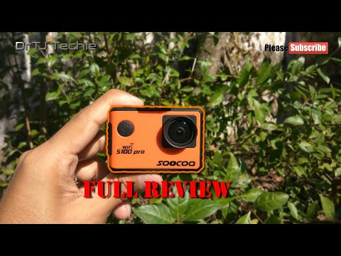 Soocoo S100 Pro Review | GoPro Alternative | Budget 4K Action Camera | DrTJ Techie