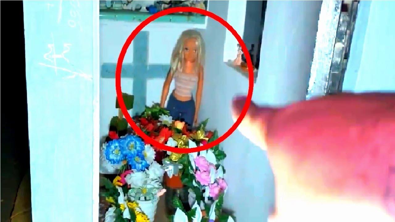 5 Video Huyền Bí Tự Di Chuyển Trong Nghĩa Trang Dưới Hầm Cửa Hàng