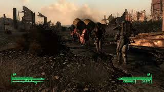 Fallout 3: Brotherhood of Steel water caravan ambush 2