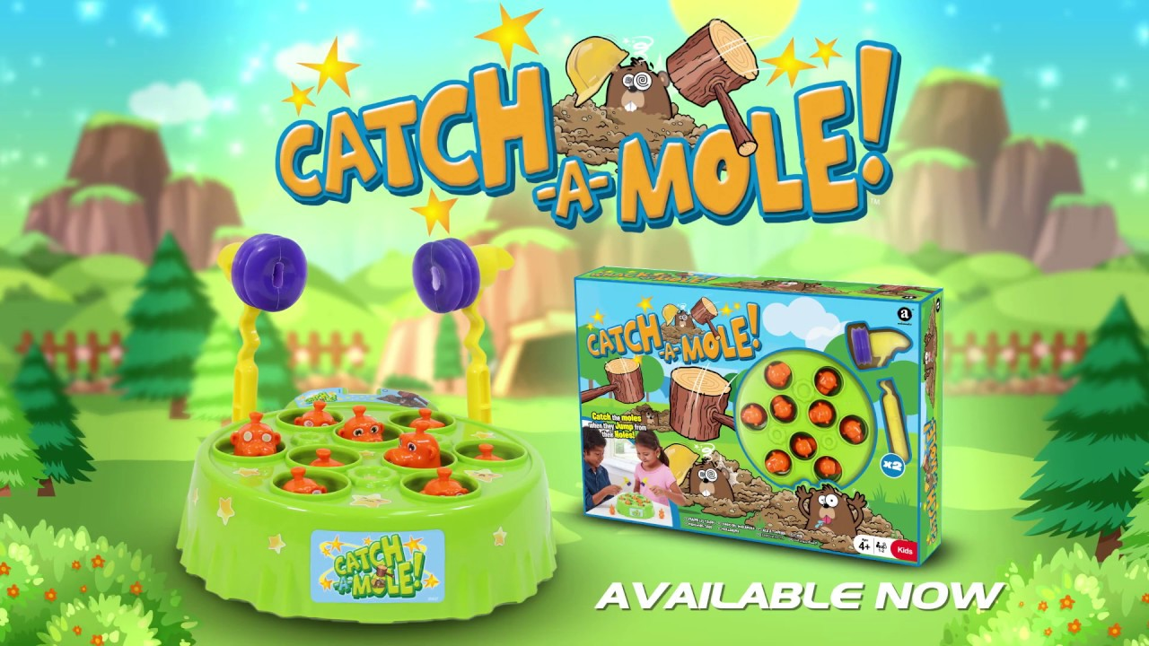 Catch A Mole Game (GPF1805) - Introduction  (30 seconds, English)