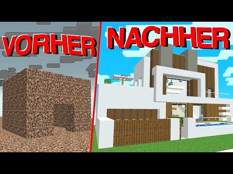 Ich Überrasche einen Noob mit einer Brandneuen Base in Minecraft