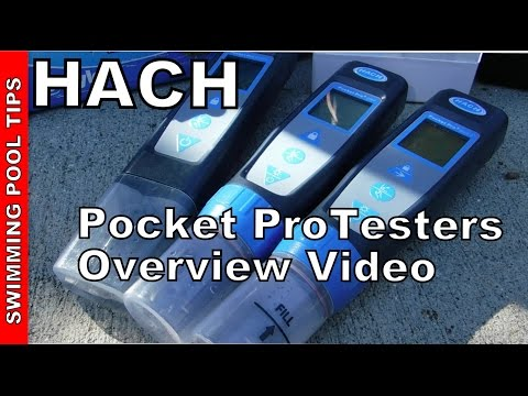 HACH® Pocket Pro and Pro+ Testers: Overview of Features and Use