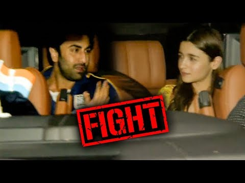 SHOCKING Ranbir Kapoor ANGRY On Alia Bhatt At Gully Boy Screening