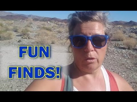 Hiking, Finding Old Stuff, Learning about Desert Plants, Rocks & More!