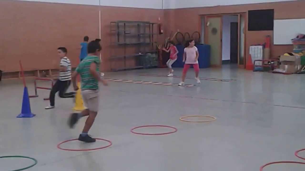 Circuito Juegos Para Niños : Circuito de coordinación para º de primaria youtube