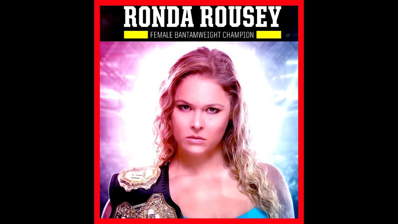 Ronda Rousey Ufc Playboy Germany Sexy