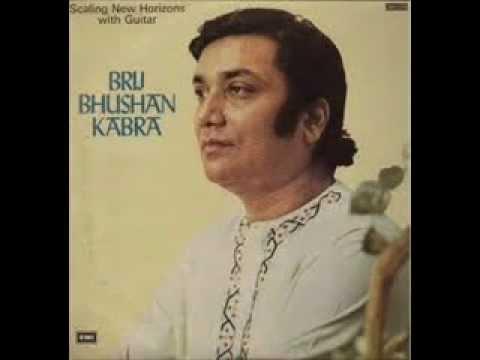 Pt.Brij Bhushan Kabra- The Great Maestro of Indian Classical Guitar