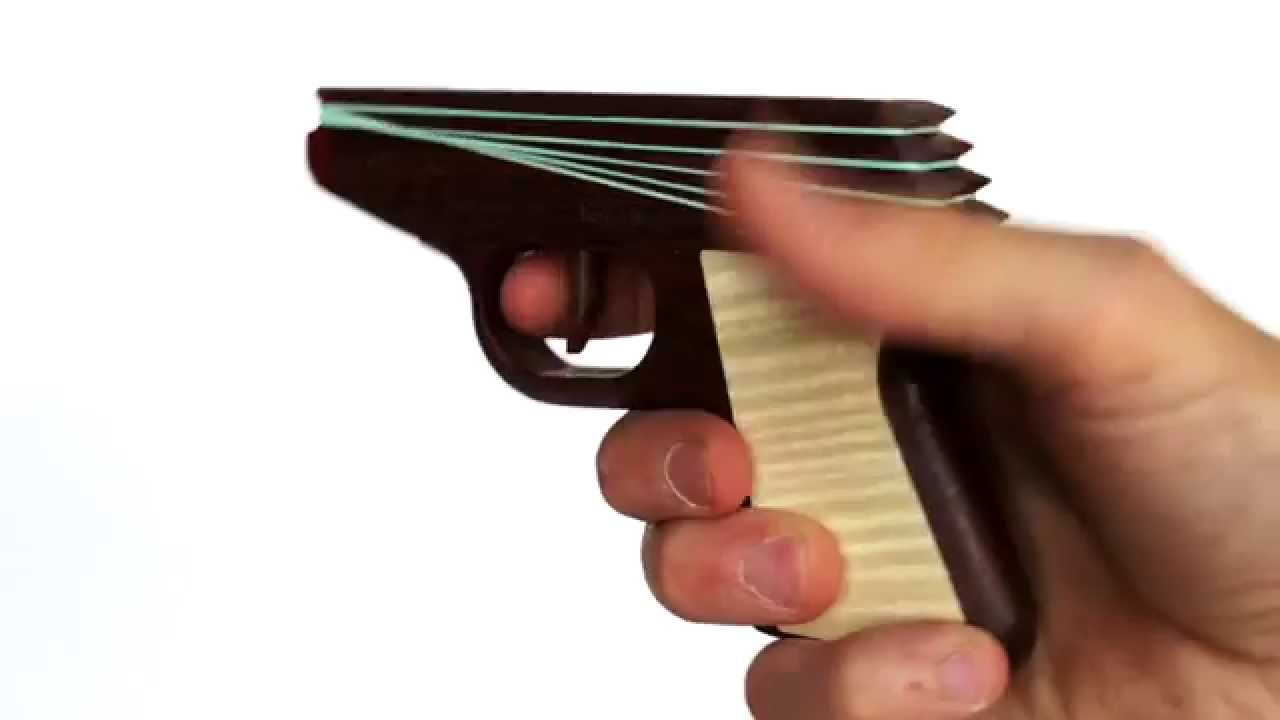 ppk rubber band gun youtube