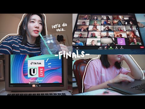 Finals Week But It's Online & I Don't Care Anymore // Spring 2020 Exam Study Vlog
