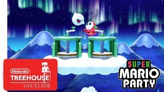 Super Mario Party Gameplay Pt. 2 - Nintendo Treehouse: Live | E3 2018