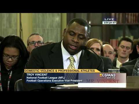 Troy Vincent Opening Statement (C-SPAN)