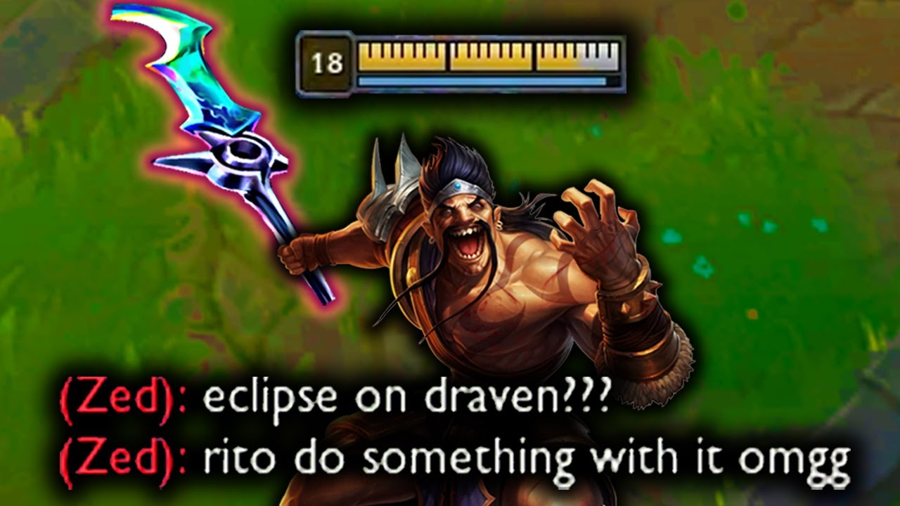ECLIPSE DRAVEN IS OP - RIOT MADE A MISTAKE
