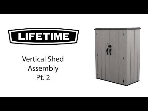 Lifetime Aufbauvideo Teil 2